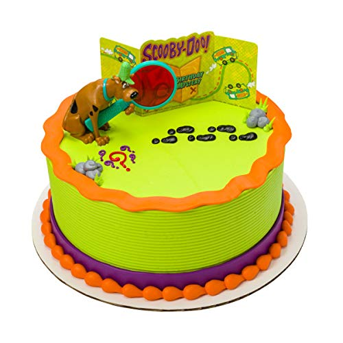 Scooby Doo! Mystery Revealed Cake Topper Decorating Set