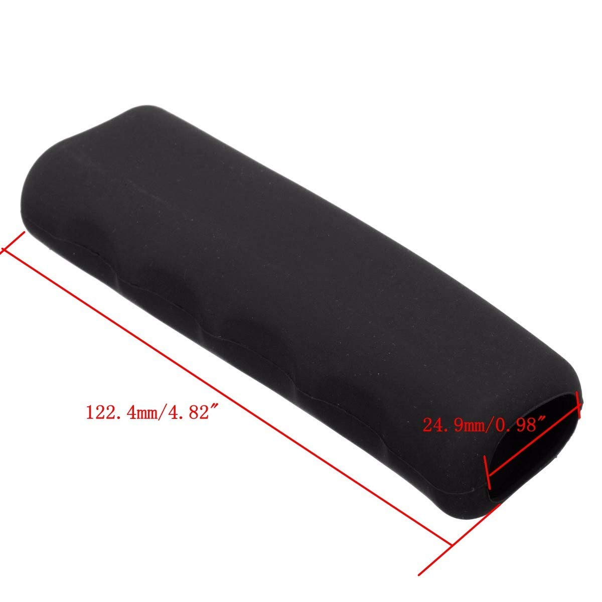 Iris-Shop Universal Car Silicone Parking Hand Brake Cover Handle Lever Case Sleeve Anti Slip Multicolored