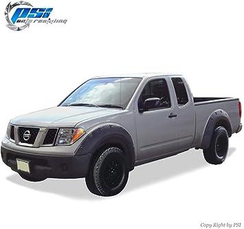Black Paintable Pocket Flares Fits Nissan Titan 04-14 Without Bedside Lockbox