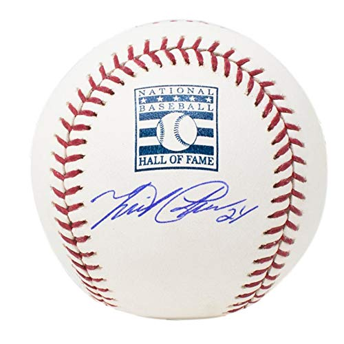 Miguel Cabrera Tigers Signed Hall Of Fame Logo MLB Baseball w/Free Ball Cube JSA ()