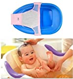 Baby kid bath bed soft slip-resistant bath net mesh sling rack shower plate baby seat bath massage T Shape Netlike bed