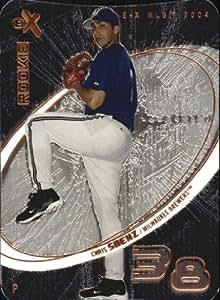 2004 E-X Die Cuts #62 Chris Saenz ROO /150 - NM-MT