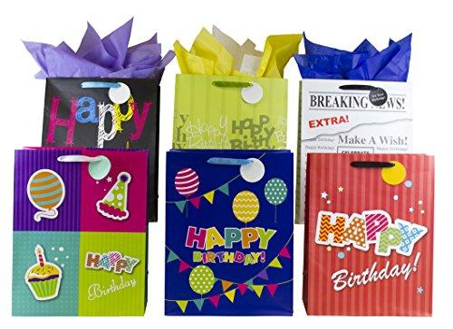 12 Designer Birthday Gift Bags 16
