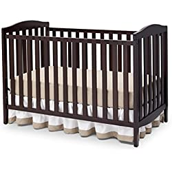 Delta Children Capri 3-in-1 Crib, Dark Chocolate