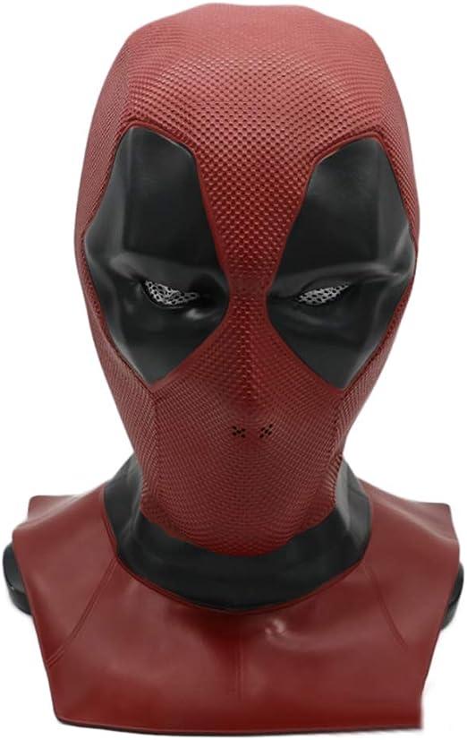 QQWE Deadpool Máscara De Disfraces Película DP Disfraz De Cosplay ...