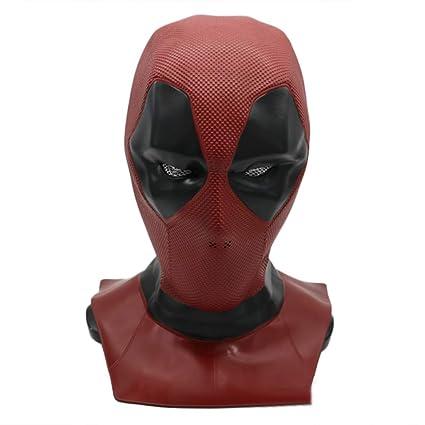 BLOIBFS Máscara De Deadpool 2 para Fiestas De Halloween Puede Ser Usada por Niños Y Adultos