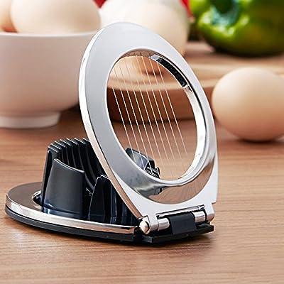 L cortador de huevo de acero inoxidable dibujo doble scopo puede ...
