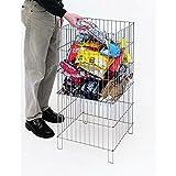 Dump Bin Impusle Merchanding Rack Compact Adjustable 18 x 18 x 28