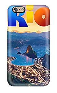 Fashionable Style Case Cover Skin For Iphone 6- Amazing Rio Movie