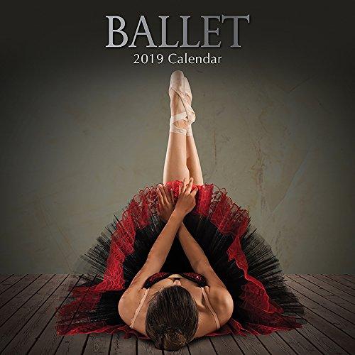 2019 Wall Calendar - Ballet Calendar, 12 x 12 Inch Monthly View, 16-Month, Includes 180 Reminder - Calendar Nyc Print