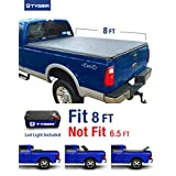 Tyger Auto TG-BC3F1025 TRI-FOLD Truck Bed Tonneau Cover 1999-2016 Ford F-250 F-350 F-450 Super Duty | Styleside 8' Bed
