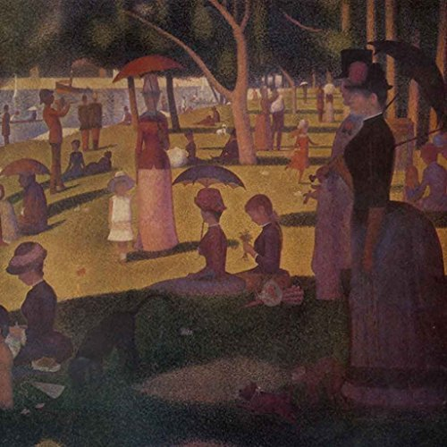 Hi-Look Microfiber Old Masters Artwork Cleaning Cloth - 'A Sunday Afternoon on the Island of La Grande Jatte' by Seurat by Calabria