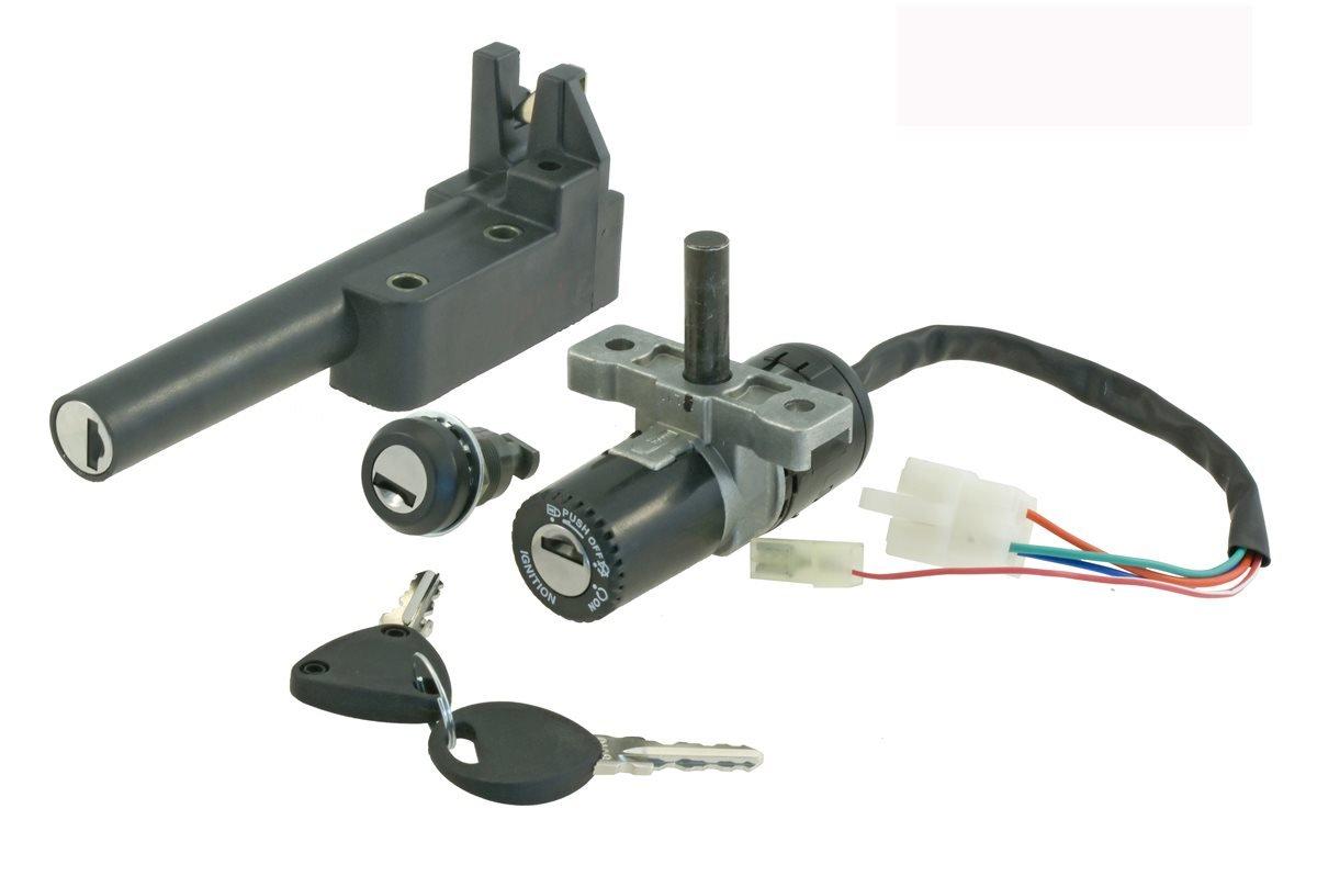 // Switch kit Aprilia Scarabeo 50cc 2T Frameworks Key and Locks RMS Kit quadro chiave Aprilia Scarabeo 50cc 2T Quadri Chiave e Serrature