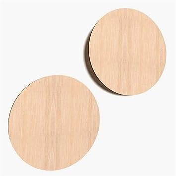 10X Kreis Aus Holz Basteln Malen Dekoration Bilderrahmen