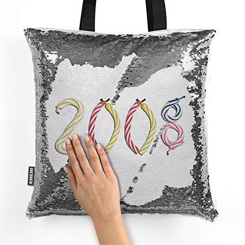 NEONBLOND Mermaid Tote Handbag 2008 Birthday Party Candles Reversible -