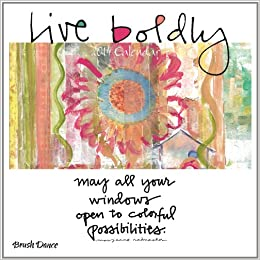 2014 Live Boldly Mini Wall Calendar