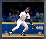 "Alan Trammell Detroit Tigers MLB Action Photo (Size: 17"" x 21"") Framed"