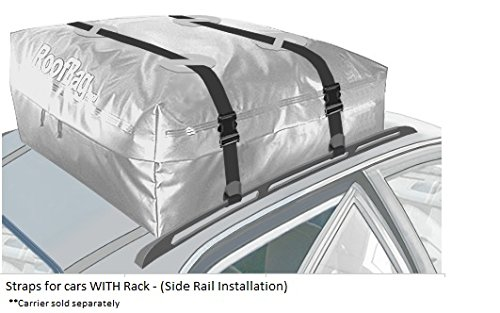 RoofBag Car Top Carrier Extra Straps -for Cars with or Without Rack by RoofBag (Image #6)