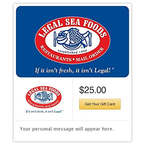 Legal Sea Foods Gift Cards - E-mail ()