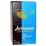 Artisana Organics Raw Coconut Oil Virgin 10 Packets 1 06 fl oz 30 05 ml Each