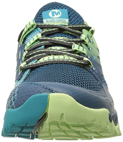 Merrell Vrouwen All Out Lading Trail Hardloopschoen Blauw