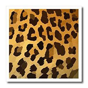 ht_119277_2 Florene Decorative II - Trendy Abstract Leopard Print - Iron on Heat Transfers - 6x6 Iron on Heat Transfer for White Material