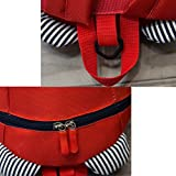 Anti-Lost Kids Backpack With Leash for Boys Girls Under 3 Years (Red)