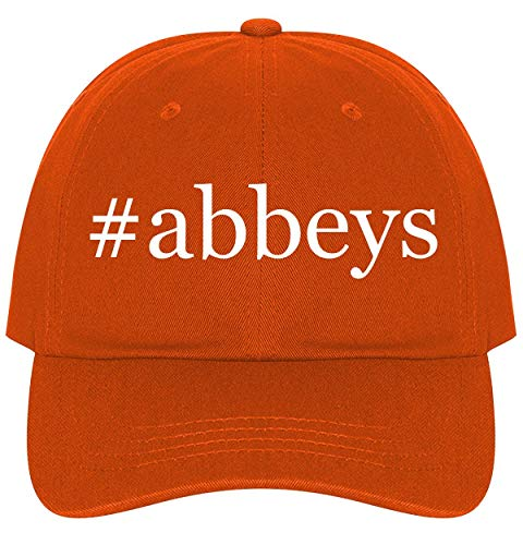 The Town Butler #Abbeys - A Nice Comfortable Adjustable Hashtag Dad Hat Cap, Orange, One Size]()