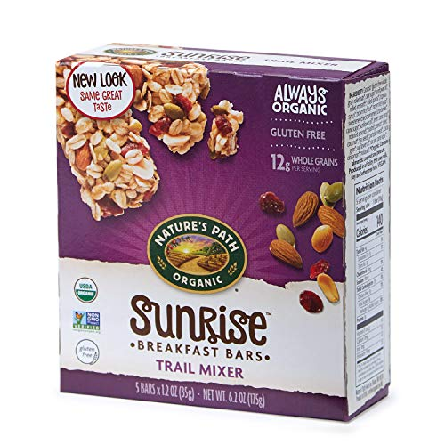 Nature's Path Organic Gluten Free Chewy Granola Bars, Trail Mixer, 6.2 Ounce ()