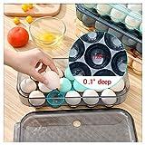 KaryHome Egg Holder for Refrigerator, Stackable