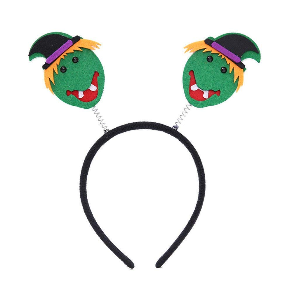 ZHRUI Halloween Party Pumpkin Spider Party Props Diademas Vestir Accesorios (Color : E): Amazon.es: Hogar