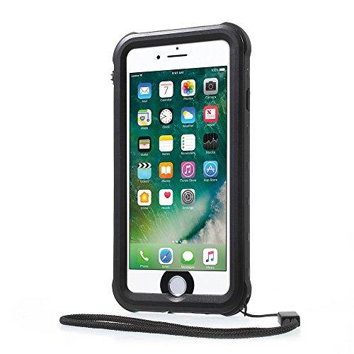 REDPEPPER PC + TPU Waterproof Tasche Hüllen Schutzhülle - Case für iPhone 7 IP68 Underwater Sealed Dust-proof Tasche Hüllen Schutzhülle - cover - schwarz