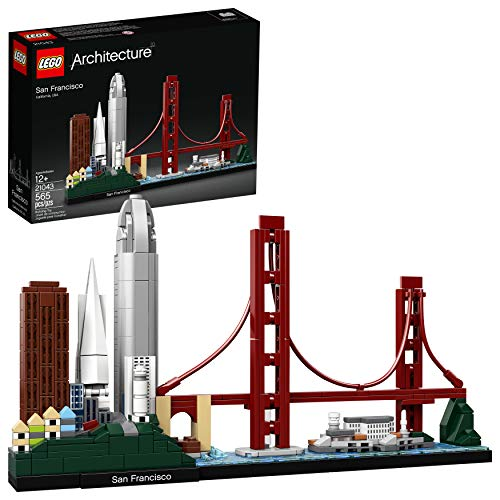 Skyscraper Sculptures - LEGO Architecture Skyline Collection 21043 San Francisco Building Kit , New 2019 (565 Piece)