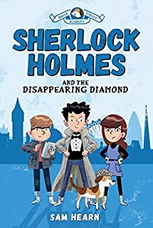 Book Cover: Sherlock Holmes and the Disappearing Diamond