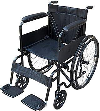 Silla de ruedas propulsada lytd, portátil plegable de auto propulsor a prueba de pinchazos