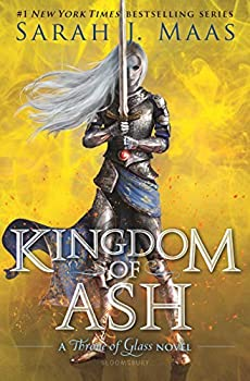 Kingdom of Ash by Sarah J. Maas science fiction and fantasy book and audiobook reviews YA young adult