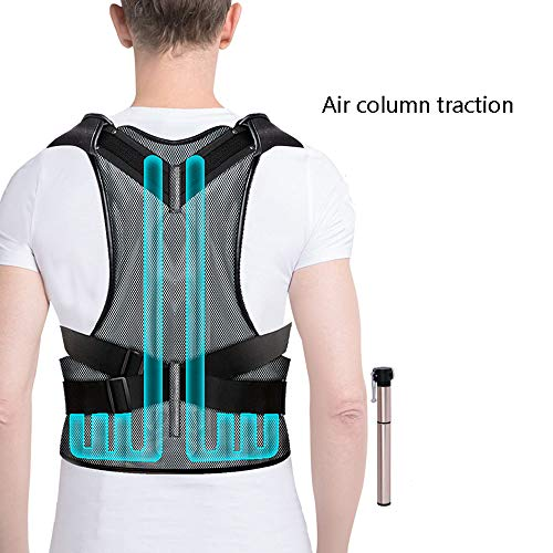 WYNZYHY Medical Belt, Lumbar Disc Lumbar Muscle Strain Male and Female Medical Posture Correction Clothing Hunchback Correction (Color : Inflatable, Size : L) by WYNZYHY (Image #4)