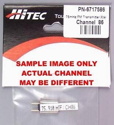 FM Transmitter Crystal Ch 86 (Hi Tec Crystals)