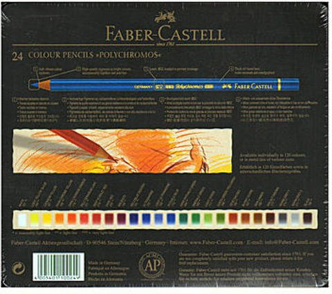 Faber-Castell Polychromos Colored Pencils - sets (Set of 24) 1 pcs sku# 1832855MA by Faber-Castell