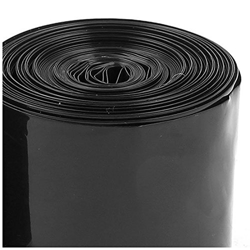 Noir 5M 16.4Ft Pour Batterie 2 X 18650 ACAMPTAR 50Mm Gaine Thermor/étractable En Pvc