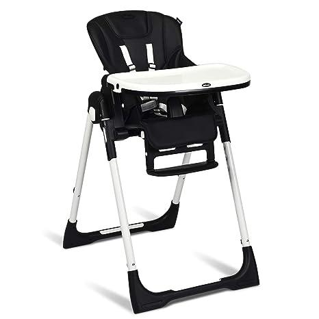 Amazon.com: INFANS Silla alta para bebés y niños, silla alta ...