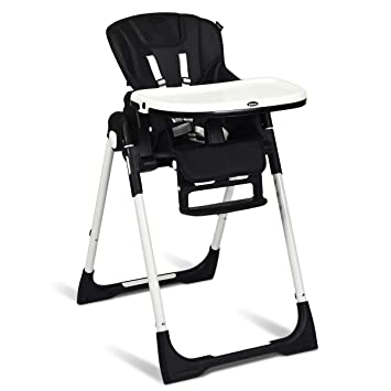 Stupendous Infans High Chair For Babies Toddlers Foldable Highchair With Multiple Adjustable Backrest Footrest And Spiritservingveterans Wood Chair Design Ideas Spiritservingveteransorg