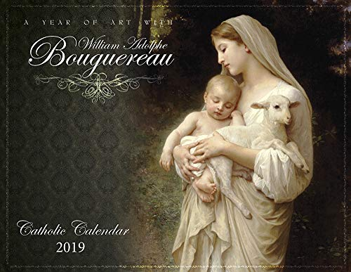 Catholic Religious Liturgical Wall Calendar 2019: A Year of Art with William Bouguereau Monthly 11