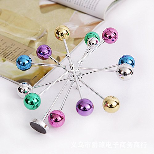 Findlavender Kinetic Art Universe Electronic Perpetual Motion Desk Toy Home Decoration