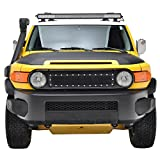 fj cruiser grill guard - E-Autogrilles Rivet Stainless Steel Wire Mesh Grille for 07-14 Toyota FJ Cruiser
