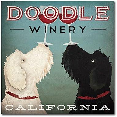Doodle Wine Artwork