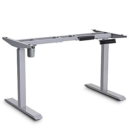 amazon com tangkula electric standing desk single motor home office rh amazon com motorized standing desk amazon motorized standing desks