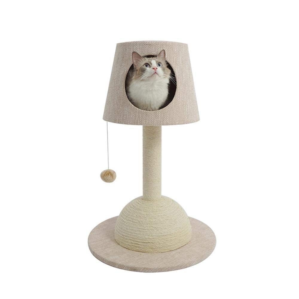 Deluxe Multi Cat Tower Creative Play Towers Trees for Cats Cat Tree Table lamp cat Rack Medium cat Catch Plate cat Trees cat Platform cat Litter Cat House