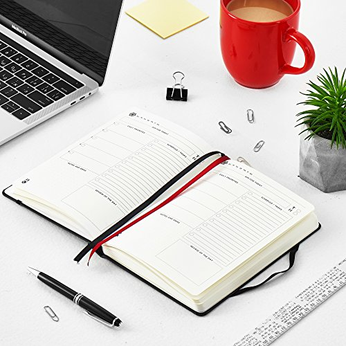 The Ultimate Agenda & Daily Planner to Boost Productivity, Hit Your Goals & Reach Happiness - Gratitude Journal - Personal Daily Weekly Monthly Organizer - Undated Notebook Calendar Photo #5