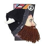 Beard Head - The Original Barbarian Looter Knit Beard Hat (Brown)